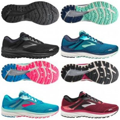 New Womens Brooks Adrenaline Gts 18 - Normal And Wide Fit - All Sizes