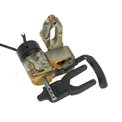 Camo Drop Away Ultra Arrow Rest Right Hand Containment Lock Down Compound Bow Z