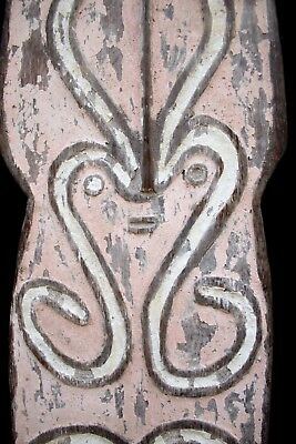 Unusual Old Gope Board - Papuan Gulf New Guinea 1960-70's