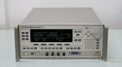 HP/Agilent 83642A 2-40GHz Synthesized Sweeper Opt 001 008