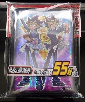 Yu-Gi-Oh! Japanese Yugi Mutou Yami Yugi Character Card Sleeves 55 Count Sealed