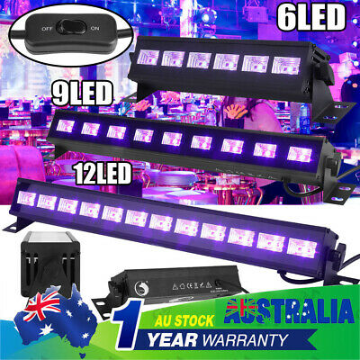 UV Black Light 18/27/36W LED Stage Light Wall Wash Light Disco Club DJ Bar Light