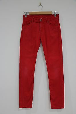 Super Cute H&M Youth Red Skinny Fit Jean Size 13-14 Years Trendy