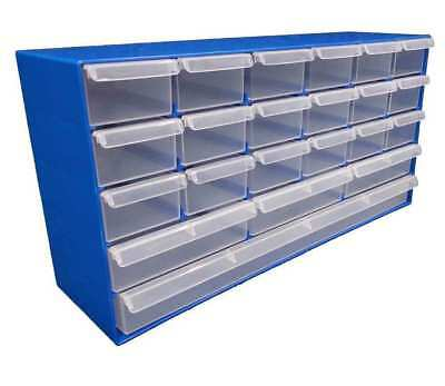 2 x Plastic Products 22 Drawer Compartment Organiser Fischer