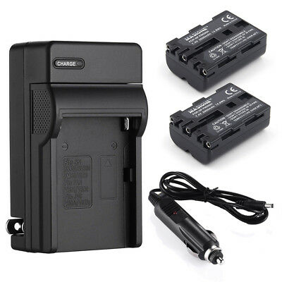 NP-FM500H Battery + Charger for Sony Alpha DSLR-A350 A200 A300 SLT-A57 A65 A77