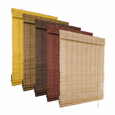 Bamboo Roman Roller Blinds Blind Window Oriental Designs Many Size/Colours