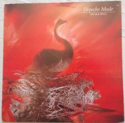 Depeche Mode - Speak & Spell - Mute - STUMM 5 - 1981 UK 1ST PRESSING Vinyl Album