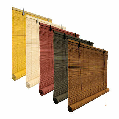 Bamboo Roller Blinds Blind Window Oriental Designs Hanging Many Size/Colours