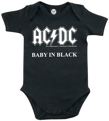 AC/DC Baby In Black Body bimbo/a nero