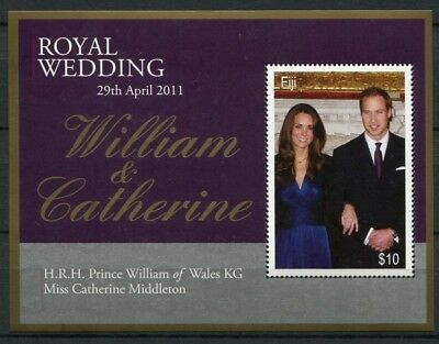 Fidschi Fiji 2011 Kgl. Hochzeit Royal Wedding Prinz William Kate Royalty MNH