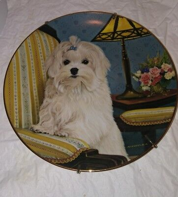 Precious portraits  Plate from Danbury Mint 8-1/4""
