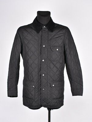 Barbour Quilted Men Jacket Coat Size S, Genuine