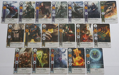 GWINT/GWENT style CARDS (18 ADD CARDS) Witcher 3 Wild Hunt (ENG EDITION) 9TH EXP