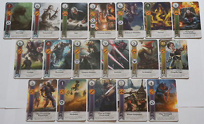 GWINT/GWENT style CARDS (18 ADD CARDS) Witcher 3 Wild Hunt (ENG EDITION)11TH EXP