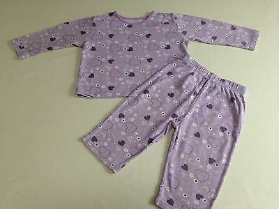 Baby Girl's 2 Piece Set (George) 12-18 Months