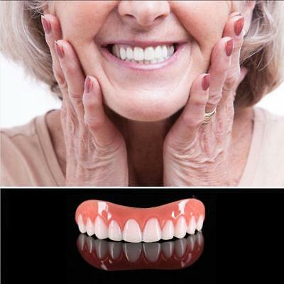 Perfect Instant Smile Comfort Fit Flex False Dentures Teeth Cosmetic Dental EN