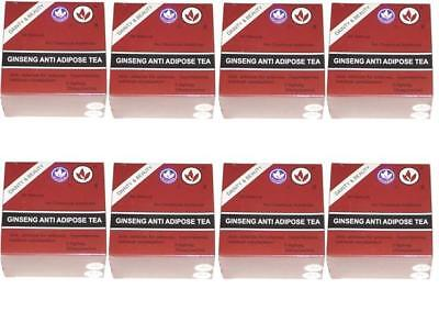8 Strong Anti Adipose Ginseng Tea Laxative Detox Very Effective For Weight Loss
