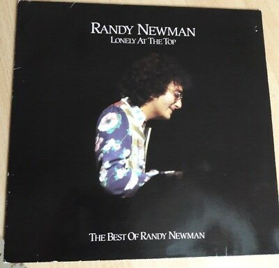 Randy Newman Lonely At The Top Vinyl LP 1987 UK