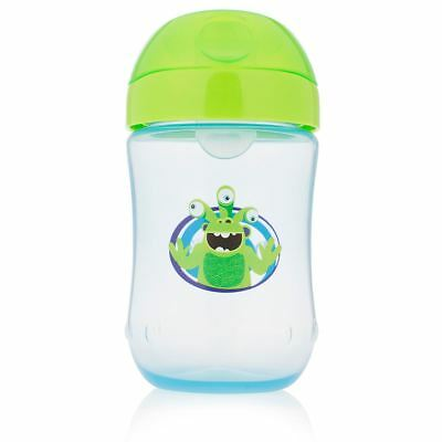 Dr Brown's Options Toddler/Baby Trainer Feeding Cup with Lid - 270ml, 9m+, Green