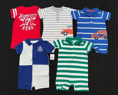 BABY Boy 6 months 9 months 1pc NWT rompers Carter's Ralph Lauren Clothes Lot