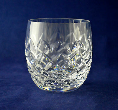 "Waterford Crystal ""POWERSCOURT"" Whiskey Glass / Tumbler – 9.1cms (3-5/8″) Tall"