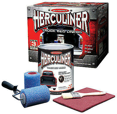 Old World Automotive Product HCL0B8 Herculiner Brush-On Bed Liner Kit - Quantity