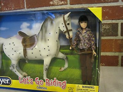 2016 Breyer Let's Go Riding Horse And Doll Collection (Nib)