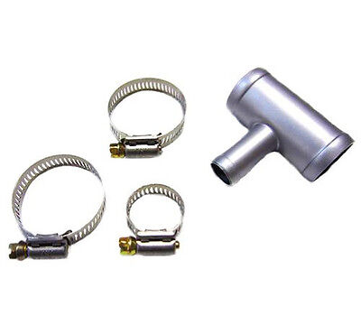 "Coolant Hose T Fitting Radiator Hose T Fitting Size 1-1/2""  X  1-1/2""  X  5/8"""