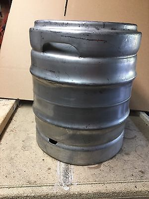 5.28 GALLON STAINLESS STEEL EMPTY BEER KEG 1/6 Barrel
