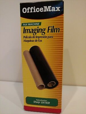 New Officemax 2 Pack Fax Machine Imaging Film Replaces Sharp UX15CR