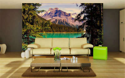 Bright Snowy Hills 3D Full Wall Mural Photo Wallpaper Printing Home Kids Decor