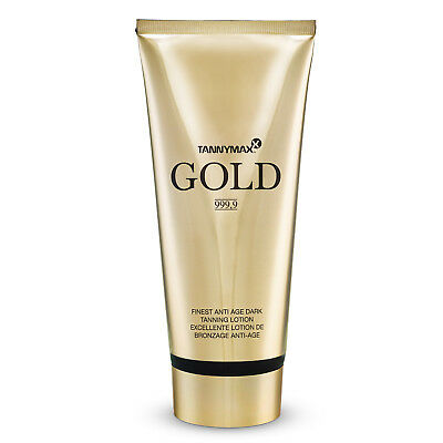 "Tannymaxx ""Gold 999,9"" Finest Anti Age Dark Tanning Lotion 200 ml Solarkosmetik"