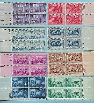 US Stamp Collection Scott 1066 - 1067 -1068 -1069 -1070 -1071 -1073 -1076 NH