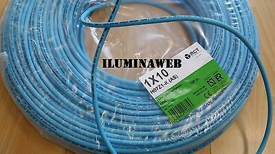 Corte x metro cable electrico flexible 10 mm2 Libre halogenos RCT, GENERAL CABLE