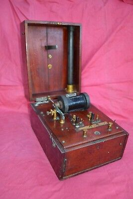 Vintage Medical Induction shock coil c.1890-1900's