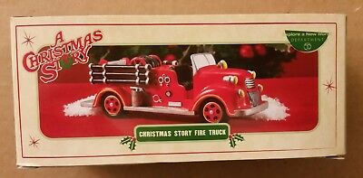 $81.99! Brand New FIRE TRUCK  Department 56 A Christmas Story Pristine Condition