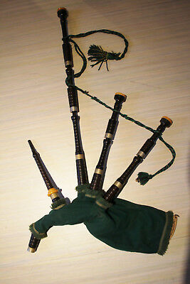 Bagpipes,Vintage Bagpipes,G.H.B,,full set,used, for restauration