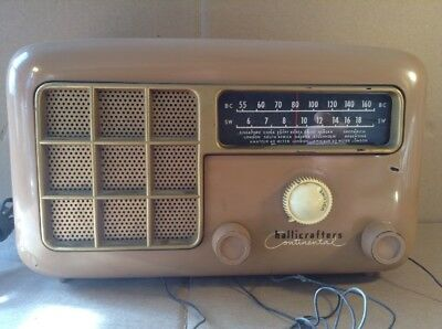 Vintage Hallicrafters Continental  Model 5R33A Radio - Tested/working -