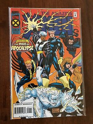 The Amazing X-Men #1 Age of Apocalypse March 1995 Marvel FREE bag/board
