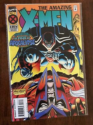 The Amazing X-Men #3 Age of Apocalypse May 1995 Marvel FREE bag/board