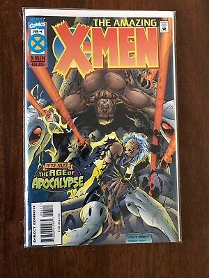 The Amazing X-Men #4 Age of Apocalypse June 1995 Marvel FREE bag/board