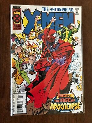 The Astonishing X-Men 1995 1st Series #1 Age of Apocalypse March FREE bag/board