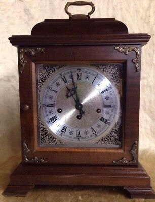 Antique  Hamilton  Westminster Chime Clock Beautiful Condition Working No Key