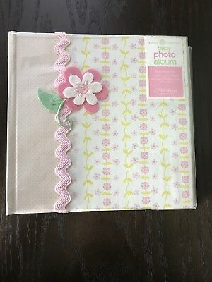 C.R. Gibson Scrapbook Photo Album For Baby Girl by Anna Griffin