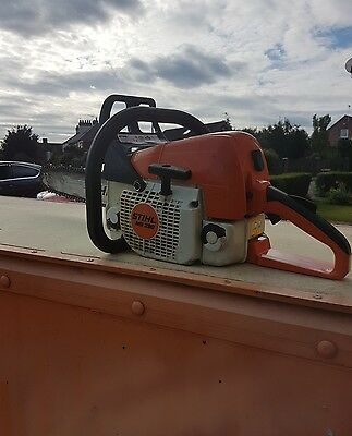 Stihl Ms290 Petrol Big Chainsaw Very Powerfull Good Condition! Runs Great! Look!