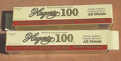 New Hagerty 100~All Metal Polish~Cleans~Polishes~Protects~Restores All Metals