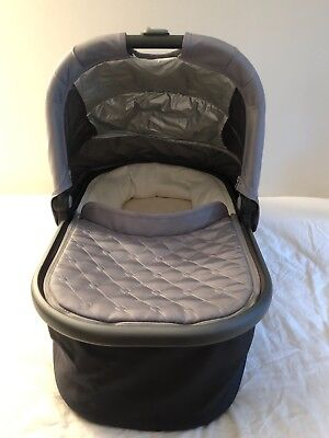 UPPAbaby Bassinet for Vista & Cruz Strollers 2015 Pascal Grey with Adapter