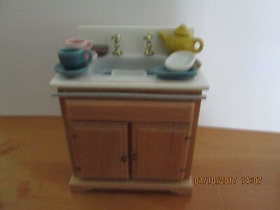 Dolls House Sink - Ready to Wash Up.