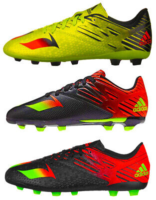 adidas Boys Kids Messi 15.4 / 15.3 FxG Football Boots Moulded Studs New Boxed