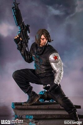 Iron Studios 1/4 Scale Winter Soldier Civil War Legacy Statue